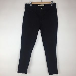 GAP 1969 Easy Legging Black Jeans 31R Straight Leg